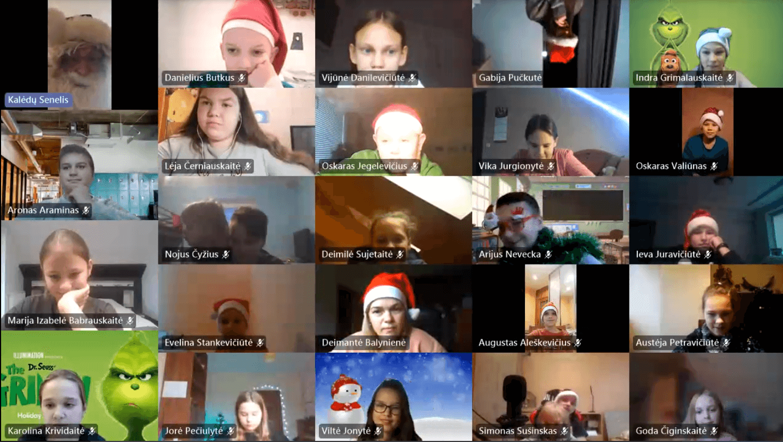 5a klasės Kalėdų stebuklas