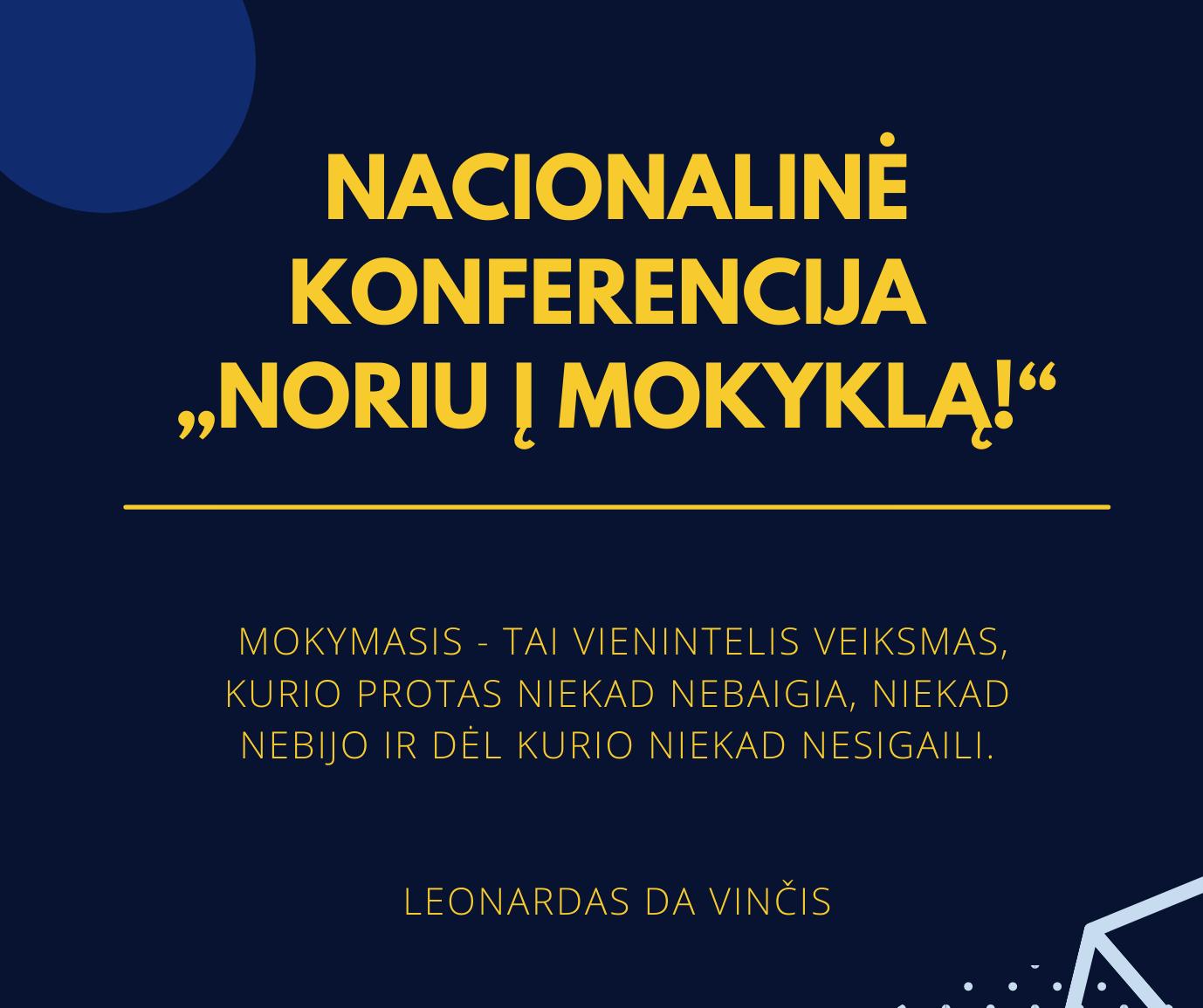 Nacionalinė konferencija