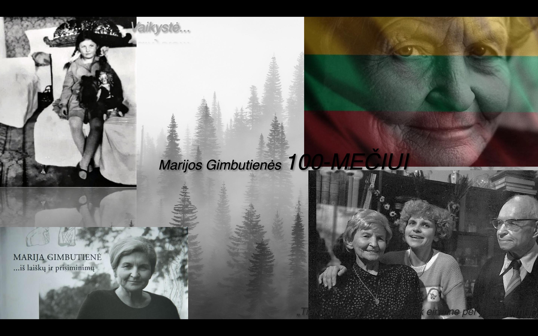 Paminėjome Marijos Gimbutienės 100-metį