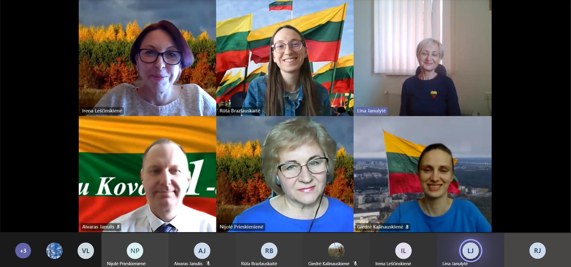 Muzikinis sveikinimas Lietuvai