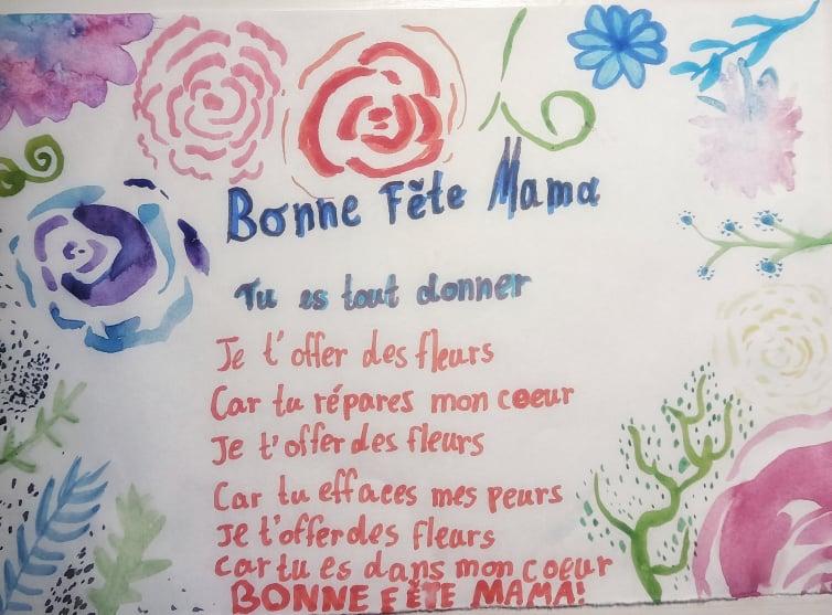 Su Mamyčių diena! (Bonne fête des Mères!)